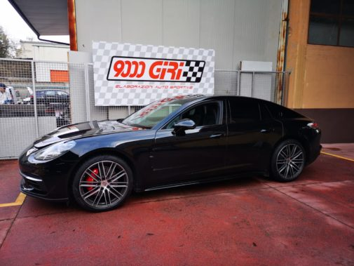Porsche Panamera II 4.0 d 4s powered by 9000 Giri