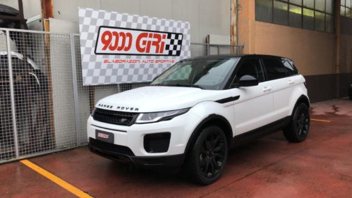 Range Rover Evoque powered by 9000 Giri