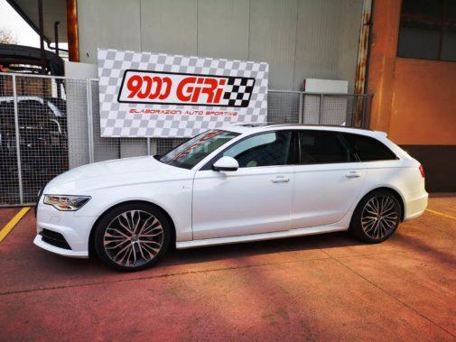 Audi A6 3.0 tdi powered by 9000 Giri