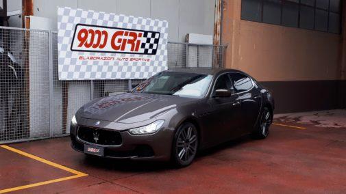 Maserati Ghibli 3.0d powered by 9000 Giri