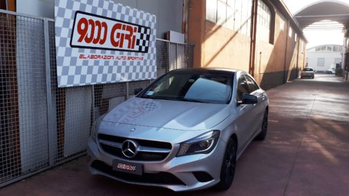 Mercedes Cla 200 cdi powered by 9000 Giri