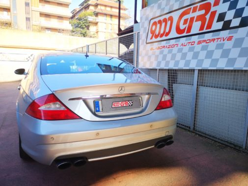 Mercedes Cls 55 Amg powered by 9000 Giri