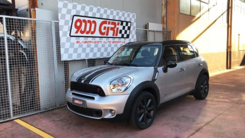Mini Countryman Cooper 2.0 sd powered by 9000 Giri