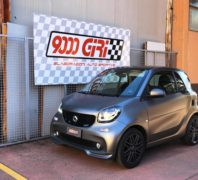 "Elaborazione Smart Fortwo Coupè 451 900 turbo ""Slot machine"""
