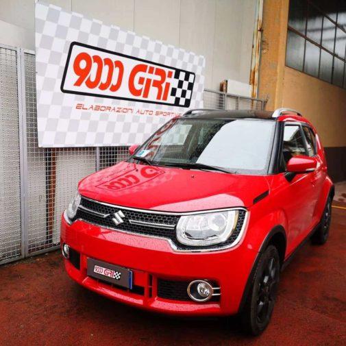 Suzuki Ignis powered by 9000 Giri