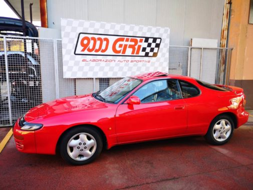 Toyota Celica 4wd powered by 9000 Giri