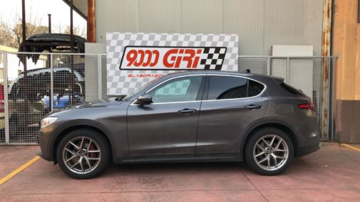 Alfa Romeo Stelvio 2.2 td powered by 9000 Giri
