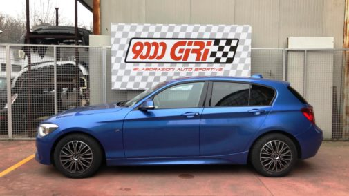 Bmw 120d powered by 9000 Giri