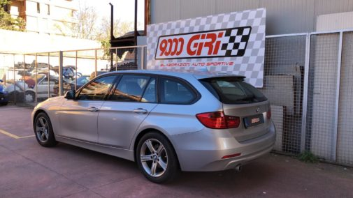 Bmw 320d powered by 9000 Giri