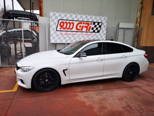 Bmw 420d powered by 9000 Giri