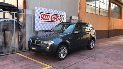 Bmw X3 2.0d powered by 9000 Giri