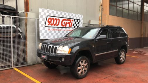 Jeep Grand Cherokee Wh 3.0 crd powered by 9000 Giri