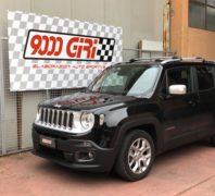 """Elaborazione Jeep Renegade 1.6 td """"La rinnegata"""""""