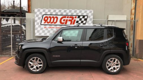 Jeep Renegade 1.6 crd powered by 9000 Giri