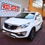 "Elaborazione Kia Sportage ""Give up"""