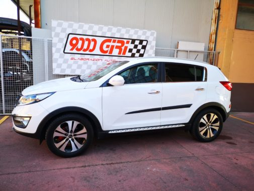 Kia Sportage powered by 9000 Giri
