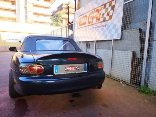 Mazda Mx 5 powered by 9000 Giri