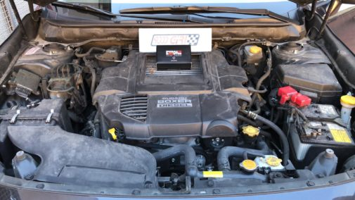 Subaru Outback 2.0d powered by 9000 Giri