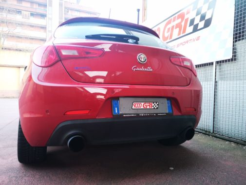 Alfa Romeo Giulietta QV powered by 9000 Giri