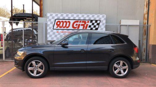 Audi Q5 powered by 9000 Giri