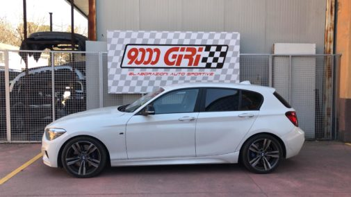 Bmw 114i powered by 9000 Giri