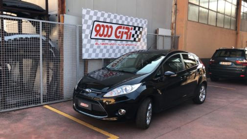 Ford Fiesta 1.2 16v powered by 9000 Giri