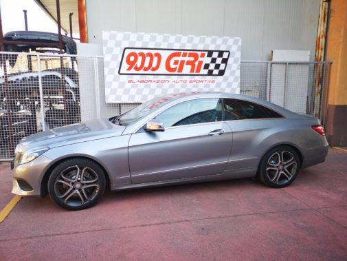 Mercedes E 220 cdi coupè powered by 9000 Giri