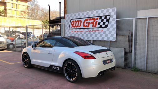 Peugeot Rcz Thp powered by 9000 Giri