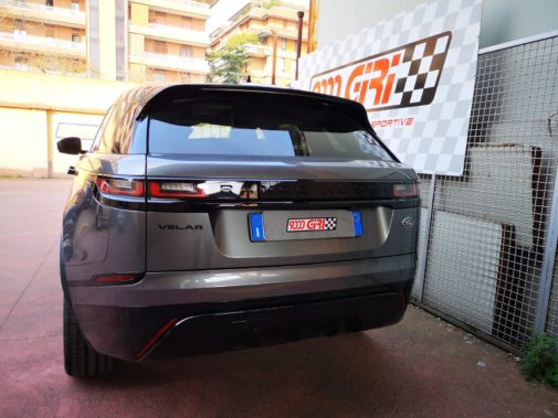 Range Rover Velar 2.0 turbo powered by 9000 Giri
