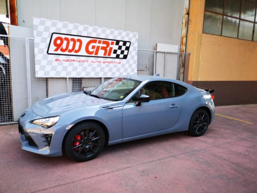 Toyota Gt 86 powered by 9000 Giri