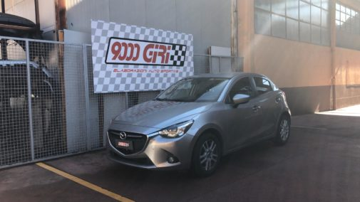 Mazda 2 1.5 dci powered by 9000 Giri