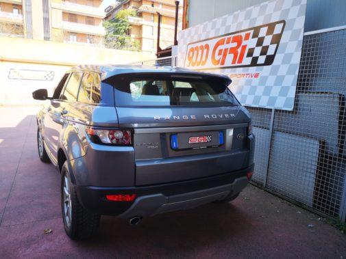 Range Rover Evoque 2.2 tdi powered by 9000 Giri