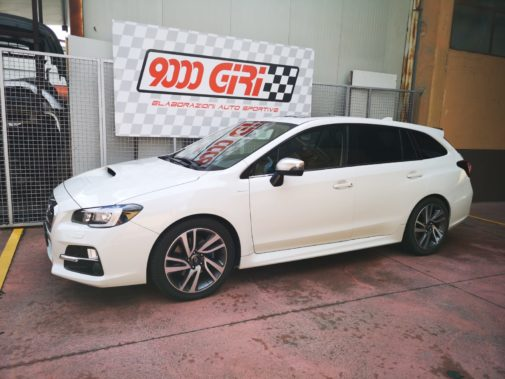 Subaru Levorg powered by 9000 Giri
