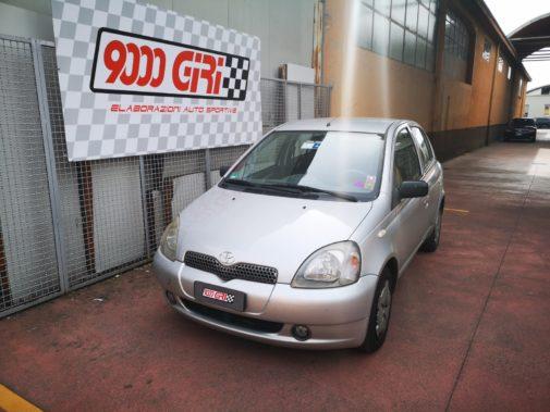Toyota Yaris powered by 9000 Giri