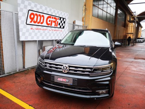 Vw Tiguan 2.0 tdi powered by 9000 Giri