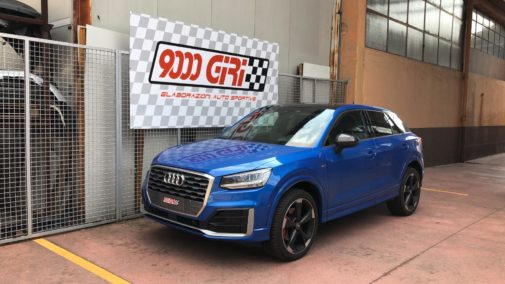 Audi Q2 1.6 tdi powered by 9000 Giri