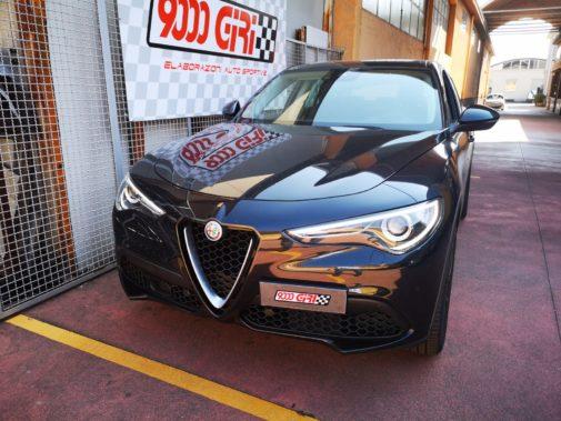 Alfa Stelvio powered by 9000 Giri