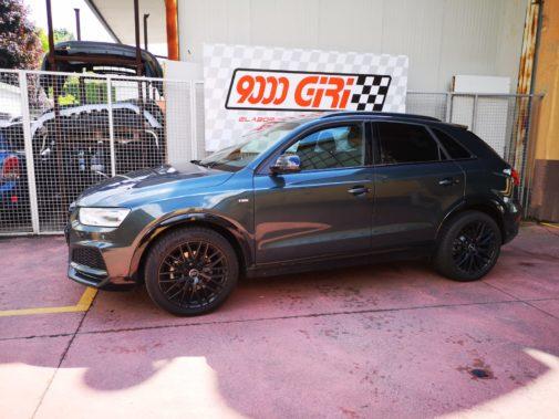 Audi Q3 2.0 tdi powered by 9000 Giri