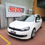 "Elaborazione Vw Golf VI 1.4 Tsi ""Golden boy"""