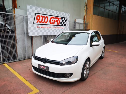 Golf VI 1.4 Tsi powered by 9000 Giri
