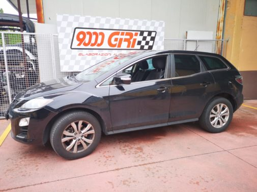 Mazda Cx 7 td powered by 9000 Giri