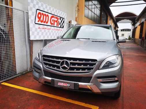 Mercedes Ml 350 cdi powered by 9000 Giri