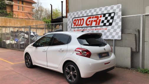 Peugeot 208 powered by 9000 Giri