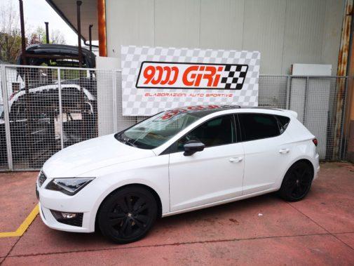 Seat Leon 2.0 tdi fr powered by 9000 giri