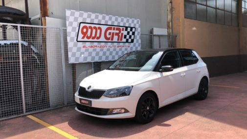 Skoda Fabia 1.0 3 cilindri powered by 9000 Giri