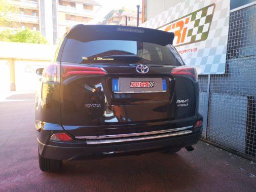 Toyota Rav 4 Hybrid powered by 9000 Giri