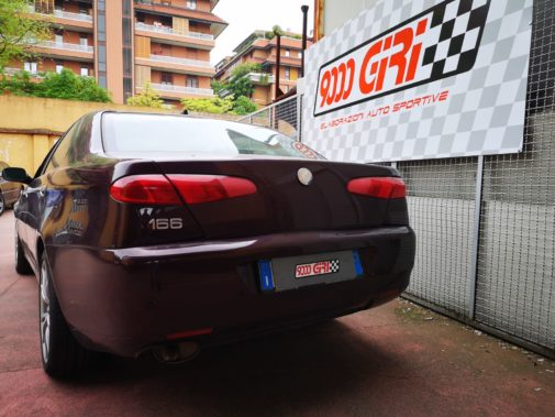 Alfa 166 2.4 td powered by 9000 giri