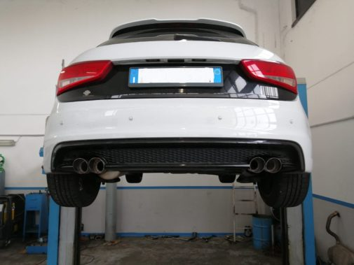 Audi A1 powered by 9000 Giri