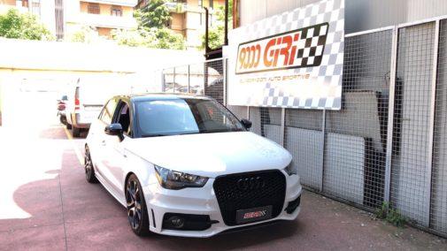 Audi A1 powered by 9000 Giri