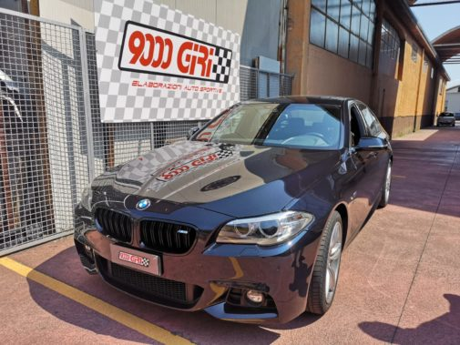 Bmw 520d F11 powered by 9000 Giri